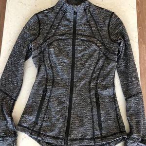 Lululemon Heathered Grey Define Jacket Size 6